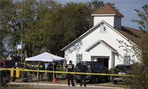 Xả súng đẫm máu tại Mỹ,  26 người thiệt mạng