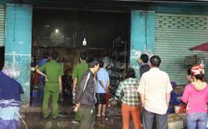 Xác định nguyên nhân vụ cháy ki-ốt khiến 4 người thương vong