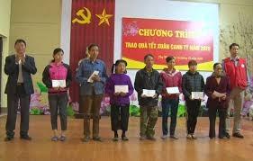 Phú Thọ: Hơn 40 nghìn suất quà Tết cho hộ nghèo