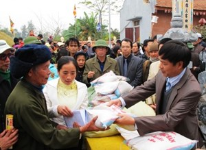 Xuất cấp gạo cho các địa phương hỗ trợ người dân dịp Tết