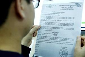 Xuất hiện văn bản giả mạo chữ ký của Bộ trưởng Bộ KH-ĐT