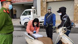 Hà Nội: Xử phạt 3 trường hợp không thuộc diện được phép ra đường