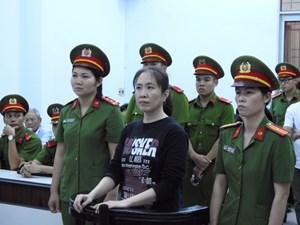 Y án sơ thẩm đối với bị cáo Nguyễn Ngọc Như Quỳnh