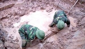 Yên Bái: Phát hiện quả bom nặng 150kg nằm sát bệnh viện đa khoa