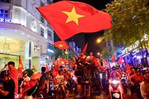 Yêu cầu bảo đảm trật tự, ATGT cổ vũ chúc mừng Đội tuyển U23 Việt Nam