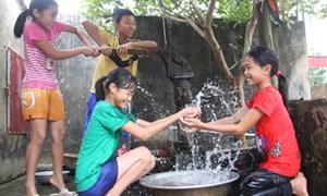 100% dân cư sẽ được sử dụng nước sạch