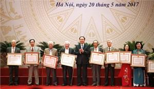 113 tác giả, đồng tác giả được trao Giải thưởng Hồ Chí Minh, Giải thưởng NN về VHNT