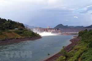 14h ngày 4/8, mở một cửa xả đáy hồ thủy điện Tuyên Quang