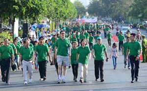 15.000 người sẽ tham gia đi bộ từ thiện