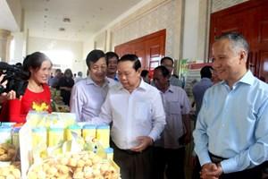 22 gian hàng trưng bày sản phẩm các tỉnh có chung biên giới Việt Nam – Lào