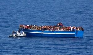2.300 người tị nạn được giải cứu ngoài khơi Libya