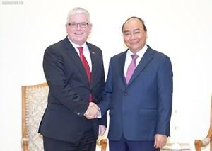 Thủ tướng tiếp Đại sứ Australia