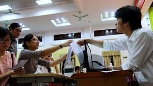 242.000 thí sinh trúng tuyển đợt 1 đã làm thủ tục xác nhận nhập học