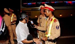 27.586 tài xế bị phạt vì vi phạm nồng độ cồn