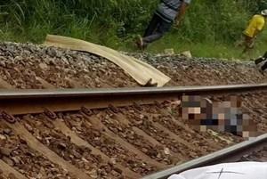 Băng qua đường ray, người đàn ông bị tàu hàng đâm tử vong