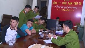 300 cảnh sát truy quét 32 ổ tín dụng đen ở Thanh Hóa