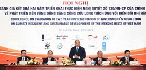 Thích ứng với biến đổi khí hậu, đẩy mạnh phát triển kinh tế vùng đồng bằng sông Cửu Long
