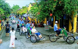 Gần 8,5 triệu lượt khách du lịch quốc tế đến Việt Nam
