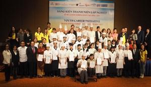 39 thanh niên có hoàn cảnh khó khăn nhận chứng chỉ đào tạo nghề