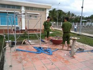 4 công nhân tử vong sau tai nạn tại trạm bơm nước thô Công ty nhiệt điện