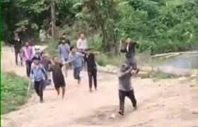 [VIDEO] Nhóm giang hồ nổ súng liên tiếp vào đối thủ