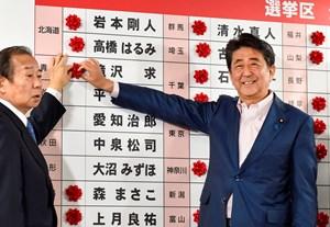 Bầu cử Thượng viện Nhật Bản: Ông Abe thắng lớn