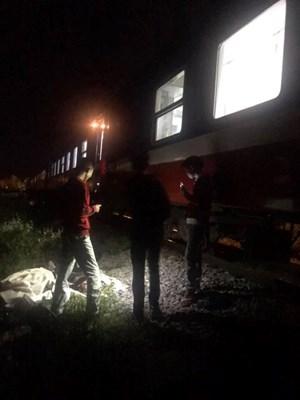 Nam thanh niên tử vong tại chỗ vì bị tàu hỏa tông trúng