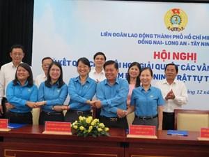 5 tỉnh, thành phối hợp giải quyết các vấn đề quan hệ lao động