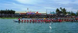 500 VĐV dự Giải đua thuyền truyền thống tỉnh Quảng Nam