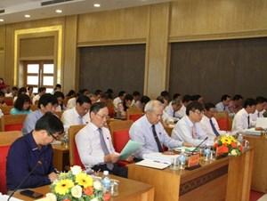 Khánh Hòa: Khai mạc kỳ họp thứ 8 HĐND tỉnh khóa VI
