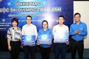 Khởi tranh cuộc thi Olympic  tiếng Anh dành cho cán bộ trẻ