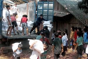 6 huyện nghèo tỉnh Hà Giang được Chính phủ hỗ trợ gạo