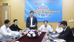 700 y, bác sĩ tham gia Hội thao kỹ thuật sáng tạo tuổi trẻ ngành y