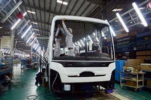 Doanh số xe tải, xe khách 'lao dốc', các hãng xe Việt lao đao giữa cao điểm mùa xe