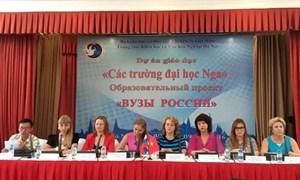 855 suất học bổng cho sinh viên Việt Nam học tập tại Liên bang Nga
