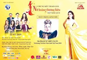 Thanh tra việc tổ chức cuộc thi 'Nữ hoàng thương hiệu Việt Nam 2019'