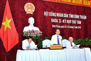 Bình Thuận: Khai mạc kỳ họp thứ 8 HĐND tỉnh khóa X