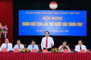 Đảng đoàn Mặt trận tiếp tục đề xuất, kiến nghị về những bất cập trong công tác cán bộ