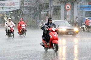 Khu vực Nam Trung Bộ có mưa dông
