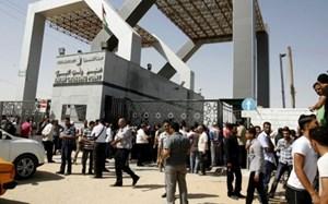 Ai Cập: Tạm thời mở lại cửa khẩu với Dải Gaza