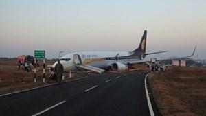 Ấn Độ: Máy bay trượt khỏi đường băng, 15 người bị thương