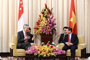 [ẢNH] 3 lần Thủ tướng Singapore Lý Hiển Long thăm Việt Nam