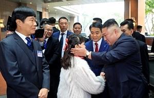 [ẢNH] Ấn tượng về Chủ tịch Kim Jong-un khi đặt chân tới Việt Nam