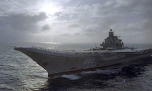 Anh gọi hàng không mẫu hạm Nga là 'con tàu hổ thẹn'