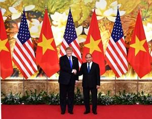 [ẢNH] Thủ tướng Nguyễn Xuân Phúc hội kiến Tổng thống Hoa Kỳ Donald Trump