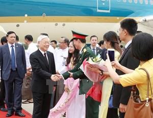 [ẢNH] Tổng Bí thư Nguyễn Phú Trọng thăm cấp nhà nước Myanmar