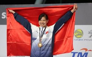 Ánh Viên giành HCV, phá kỷ lục SEA Games