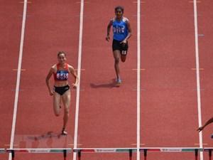ASIAD 2018: Quách Thị Lan đoạt HCB chạy 400 mét vượt rào