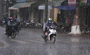 Nhiều khu vực có mưa