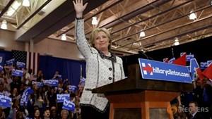 Bà Clinton thắng lớn ở Nam Carolina